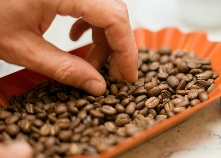 Coffee Trays for Coffee-Beans